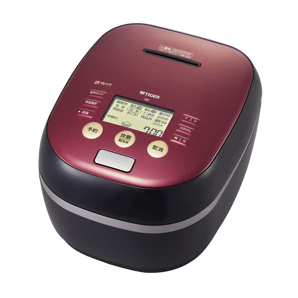 【ネット限定事前予約210609】タイガー 土鍋圧力IH炊飯ジャー〈炊きたて〉5.5合炊き JPH-B102KW