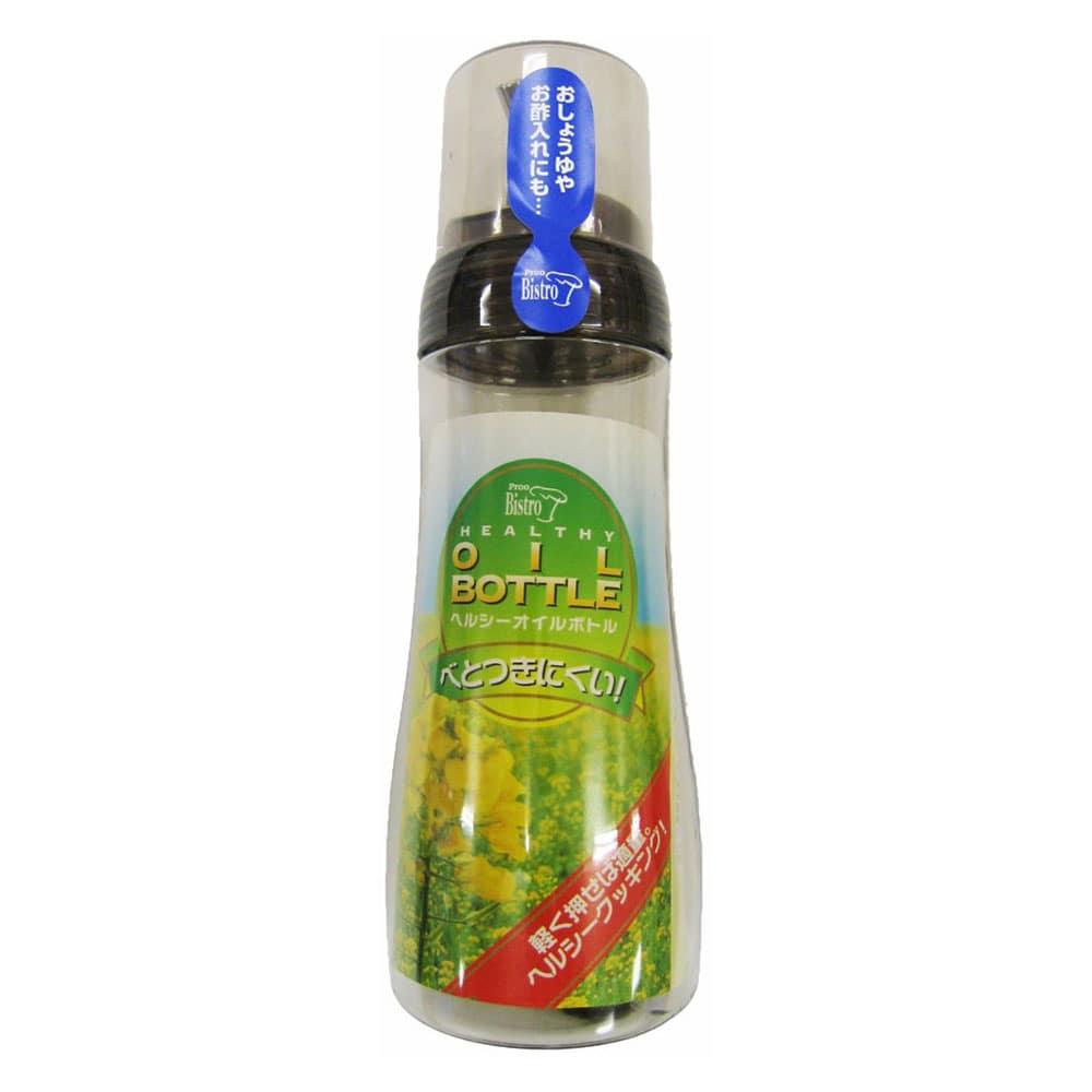 タケヤ化学 プルー ヘルシーオイルボトル L 280ml クリアブラウン [5382]