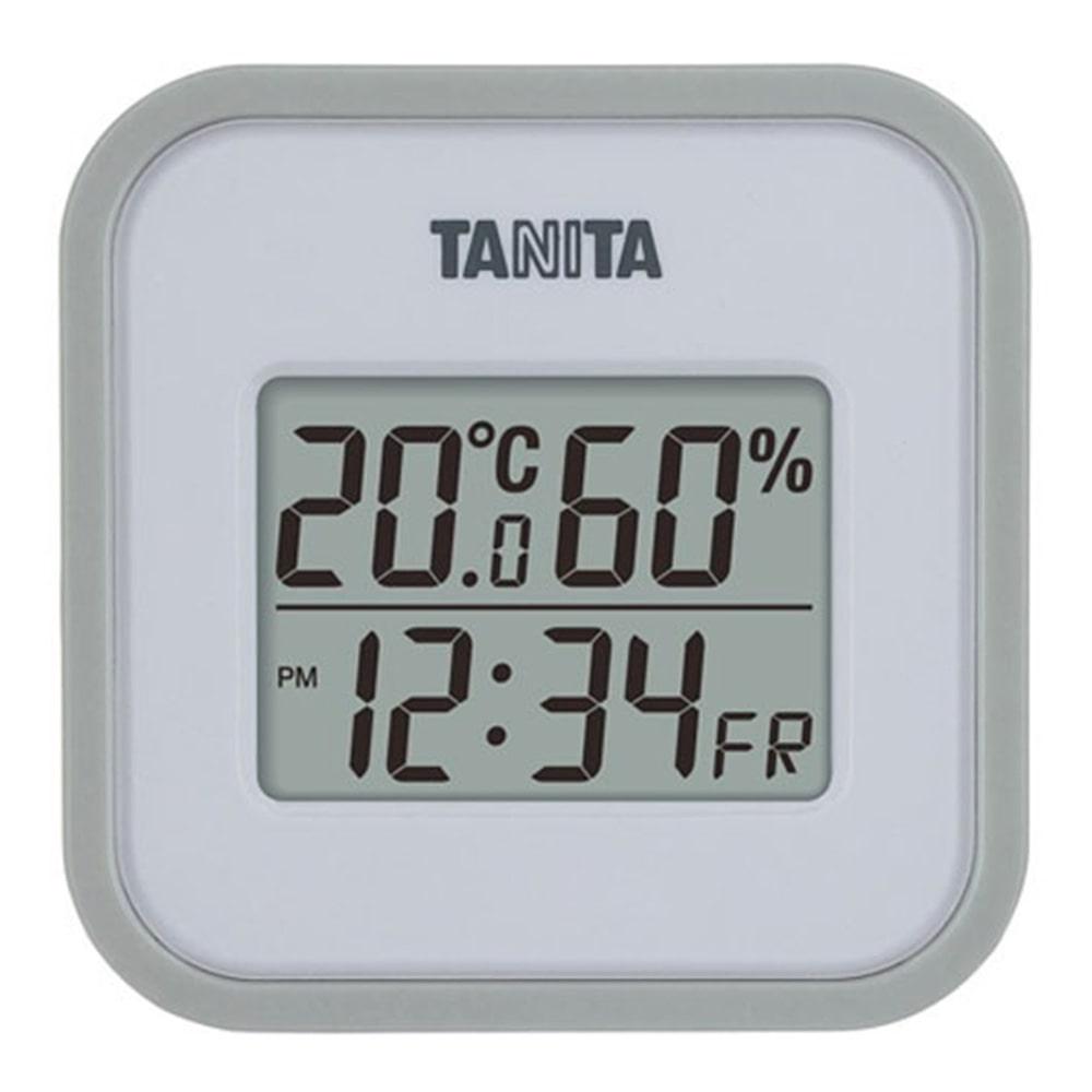 TANITA タニタ デジタル温湿度計 TT558 GY グレー