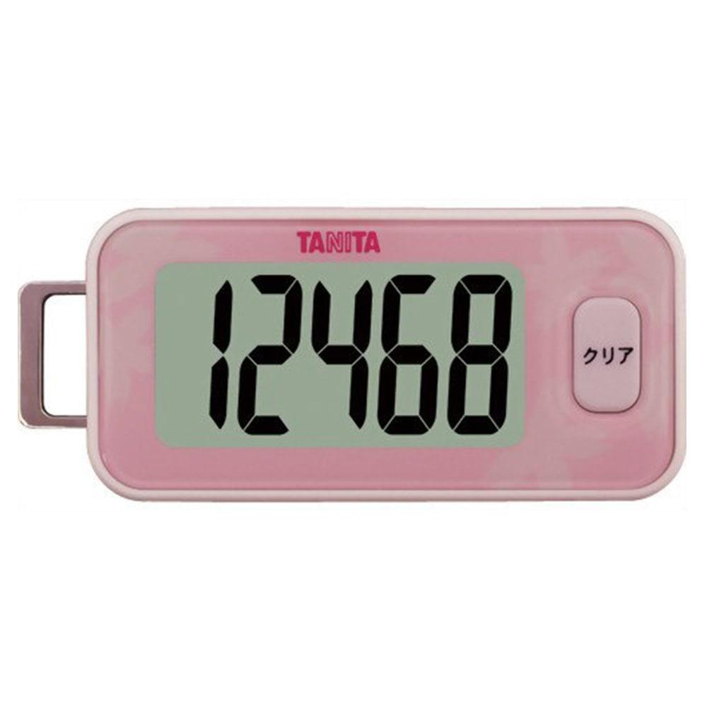 タニタ 3Dセンサー搭載歩数計 サクラ FB-731-PK(1台)