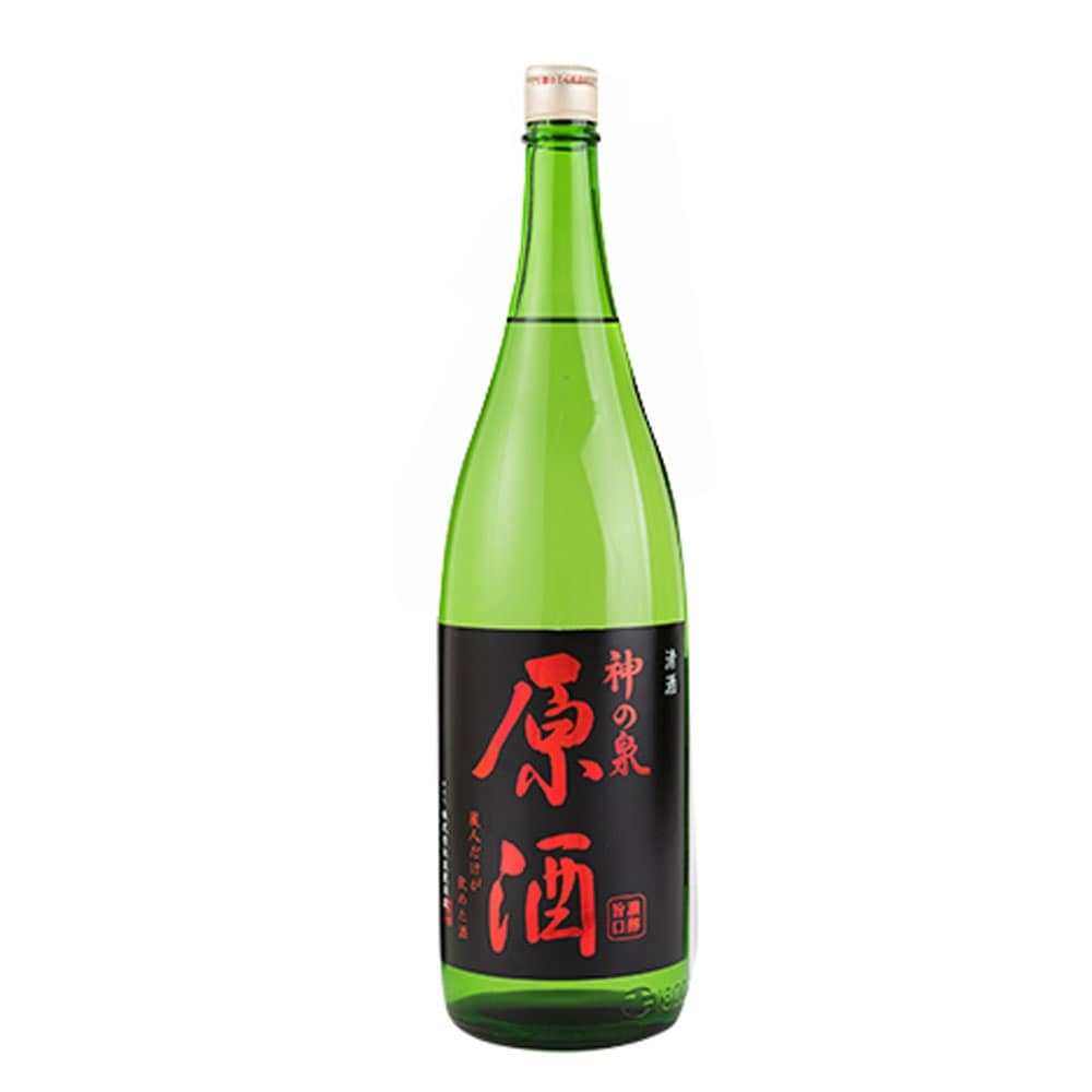 東亜酒造 神の泉 原酒 1800ml【別送品】