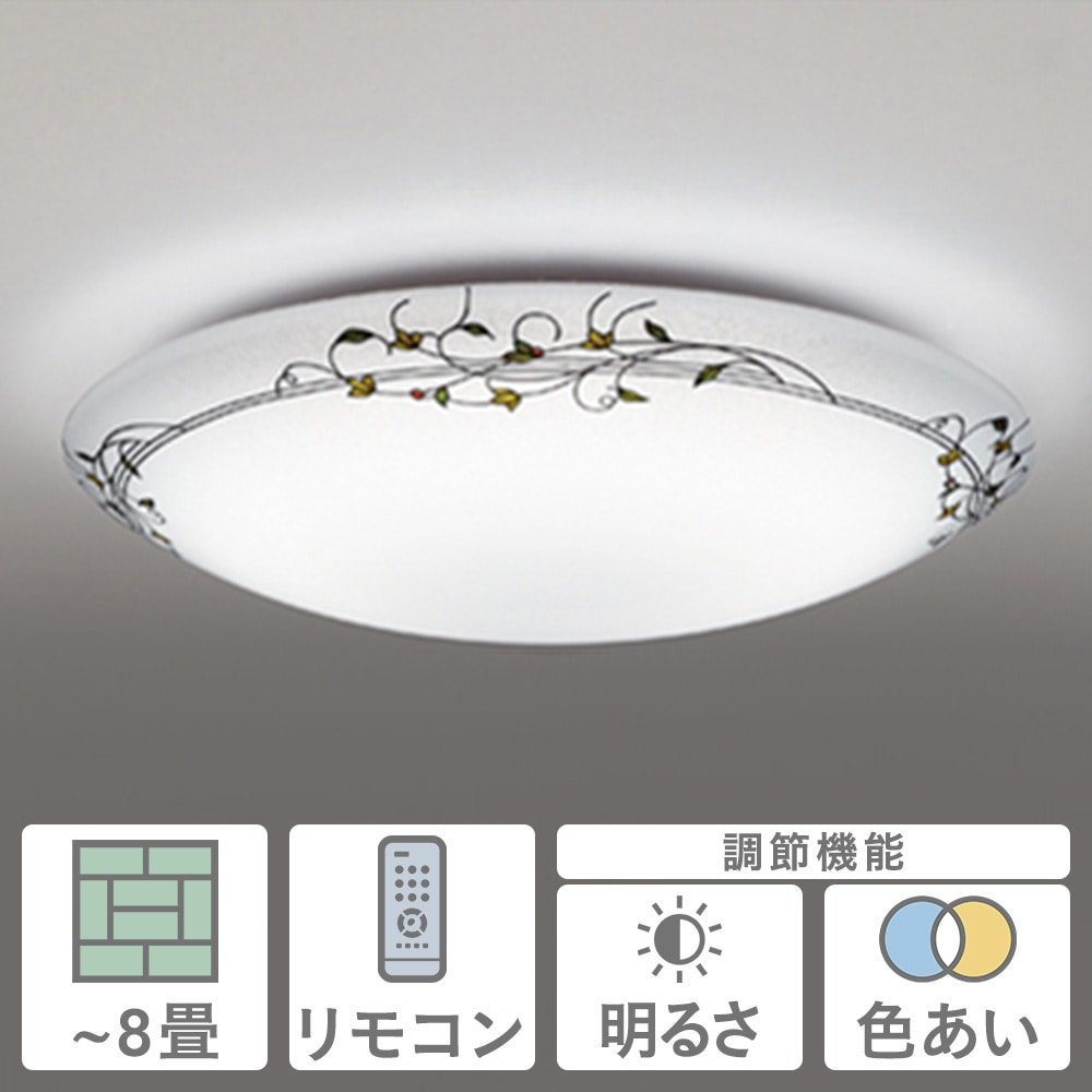 LEDシーリング8畳ステンドグラス SH8267LDR