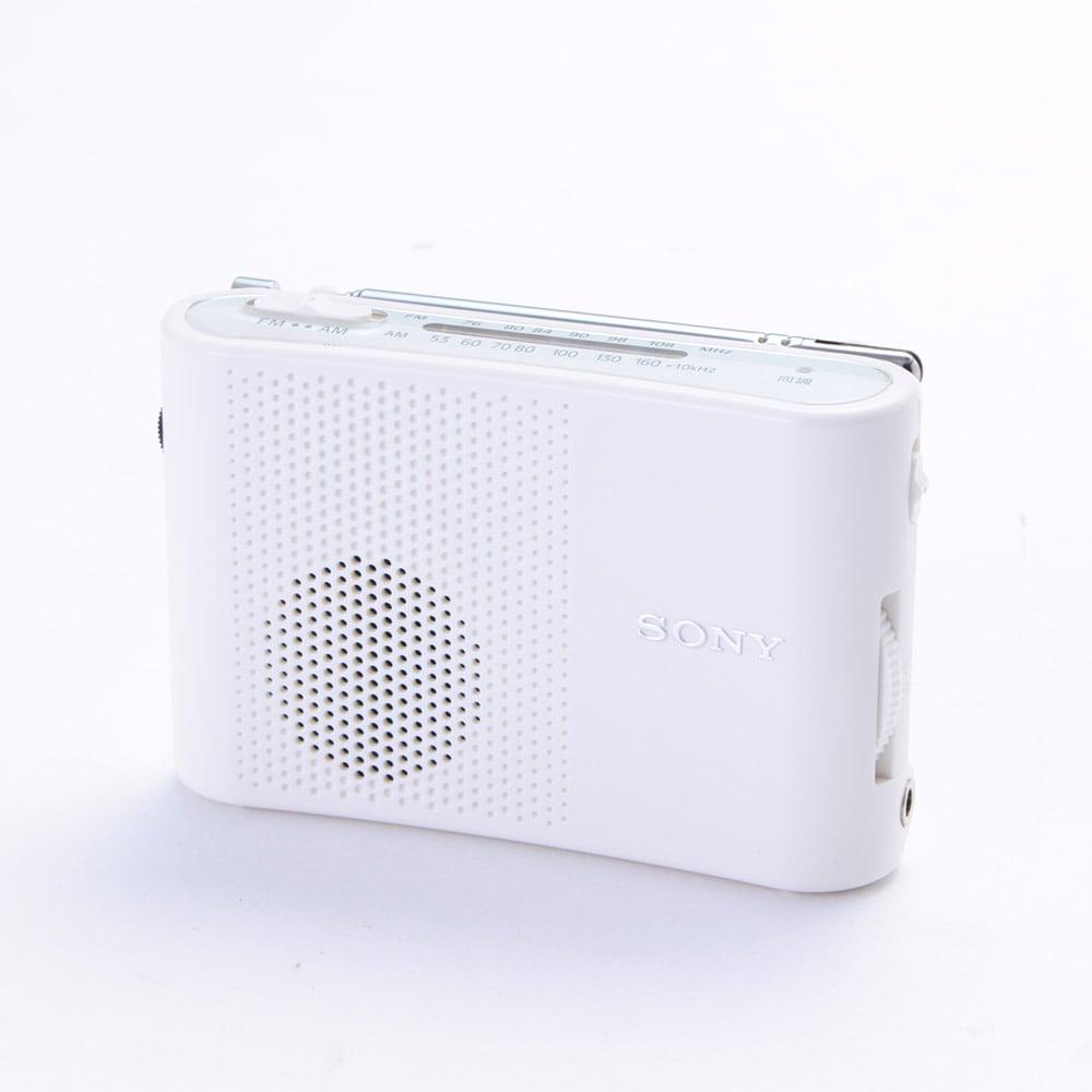SONY FM/AM コンパクトラジオ ICF51