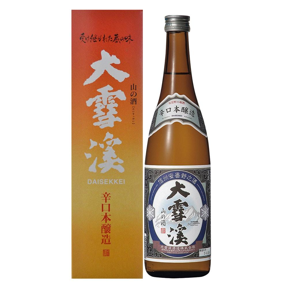 大雪渓 辛口本醸造 720ml