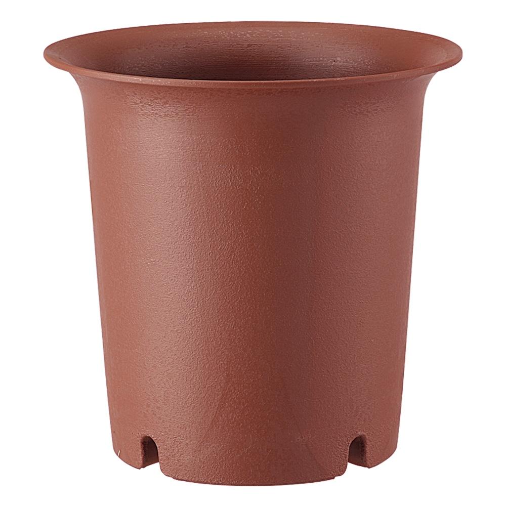陶鉢 深型7号 えび茶
