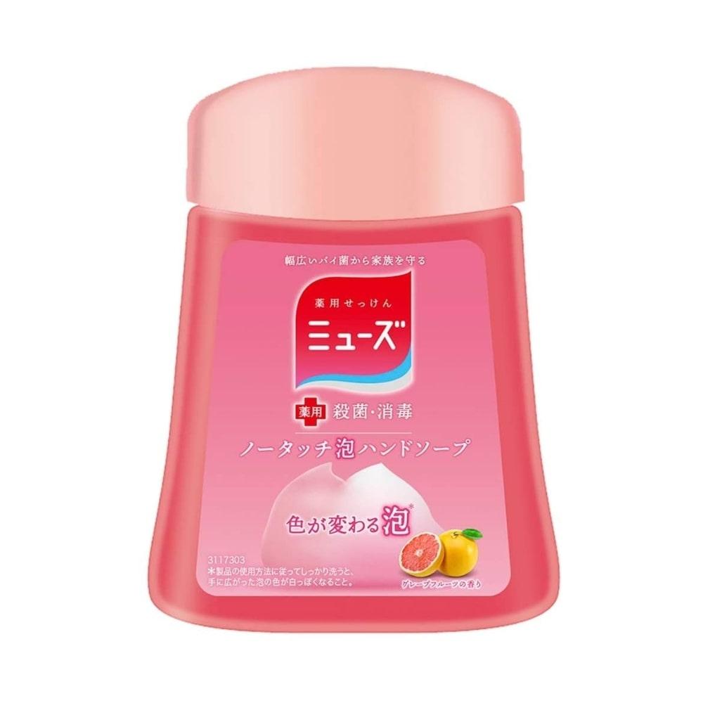 アース 薬用せっけんミューズ ノータッチ泡ハンドソープ 詰替 グレープフルーツの香り 250ml