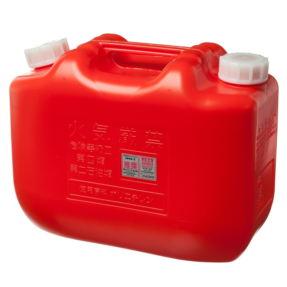 こだま 灯油ポリタンク 10L 赤