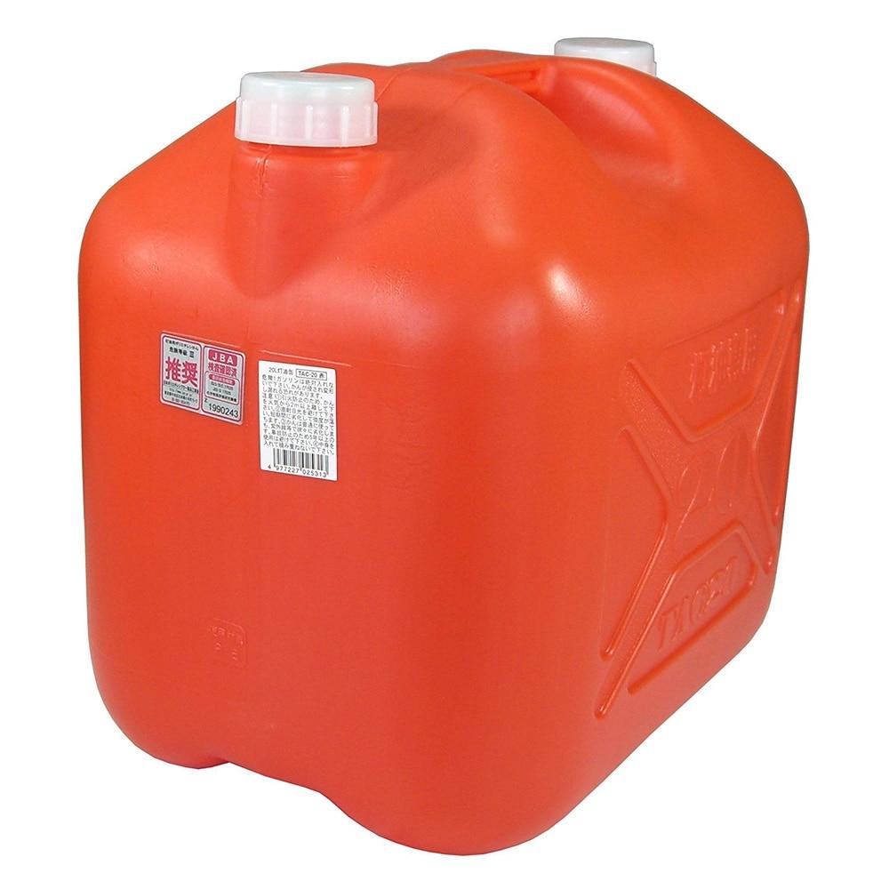 こだま 灯油ポリタンク 20L 赤