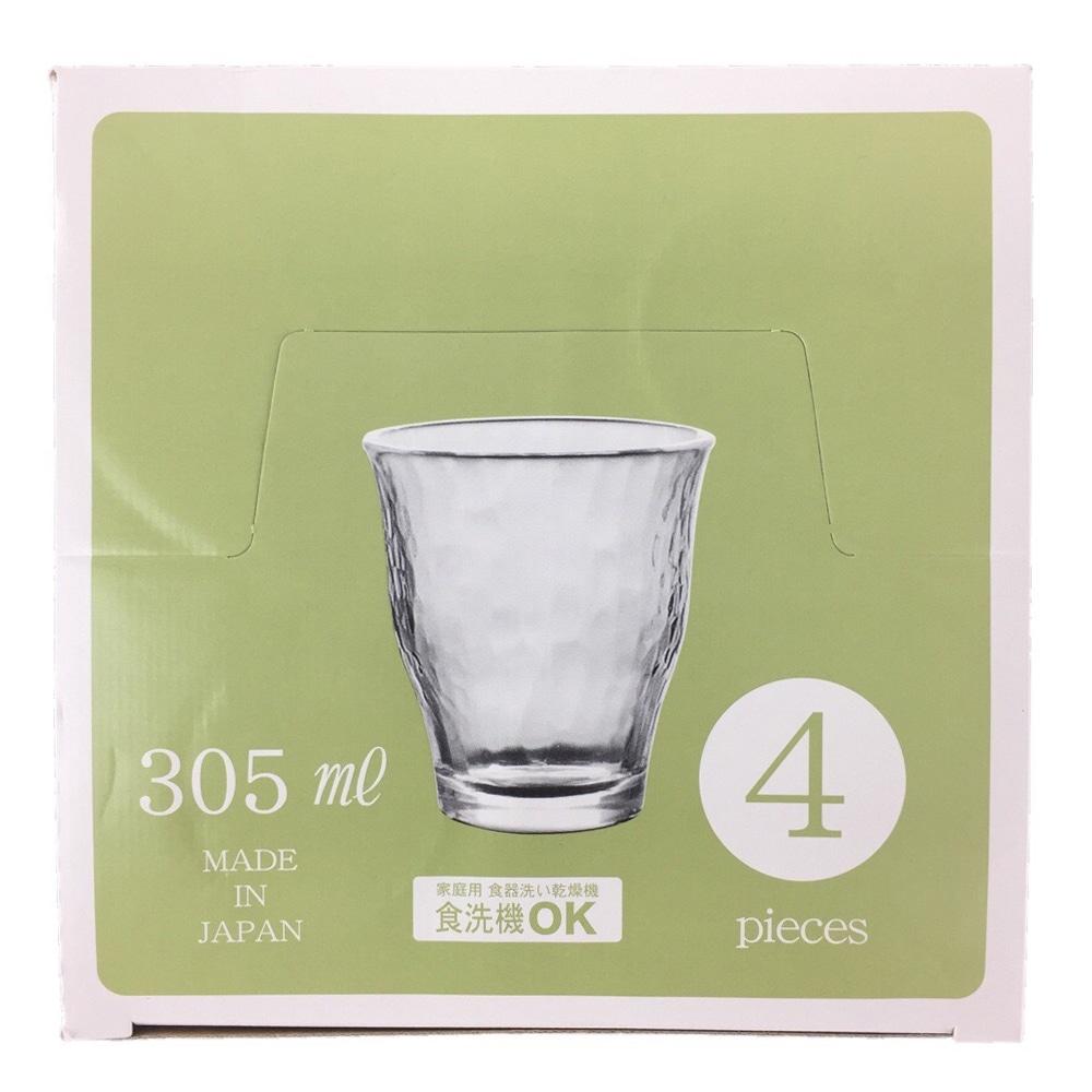 タンブラーセット ザ グラス タンブラー 305ml×4個組