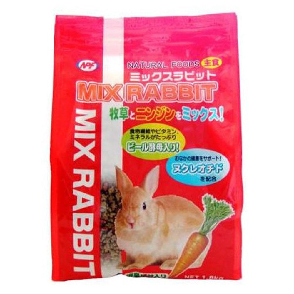 ナチュラルペットフーズ ナチュラルペットフーズ ミックスラビット ニンジン味 1.8kg