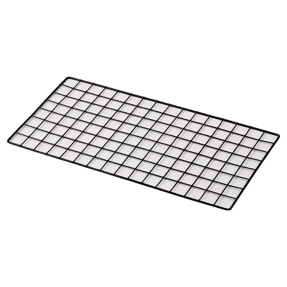 <ワイヤーネット> メッシュネット 30×60cm ブラック