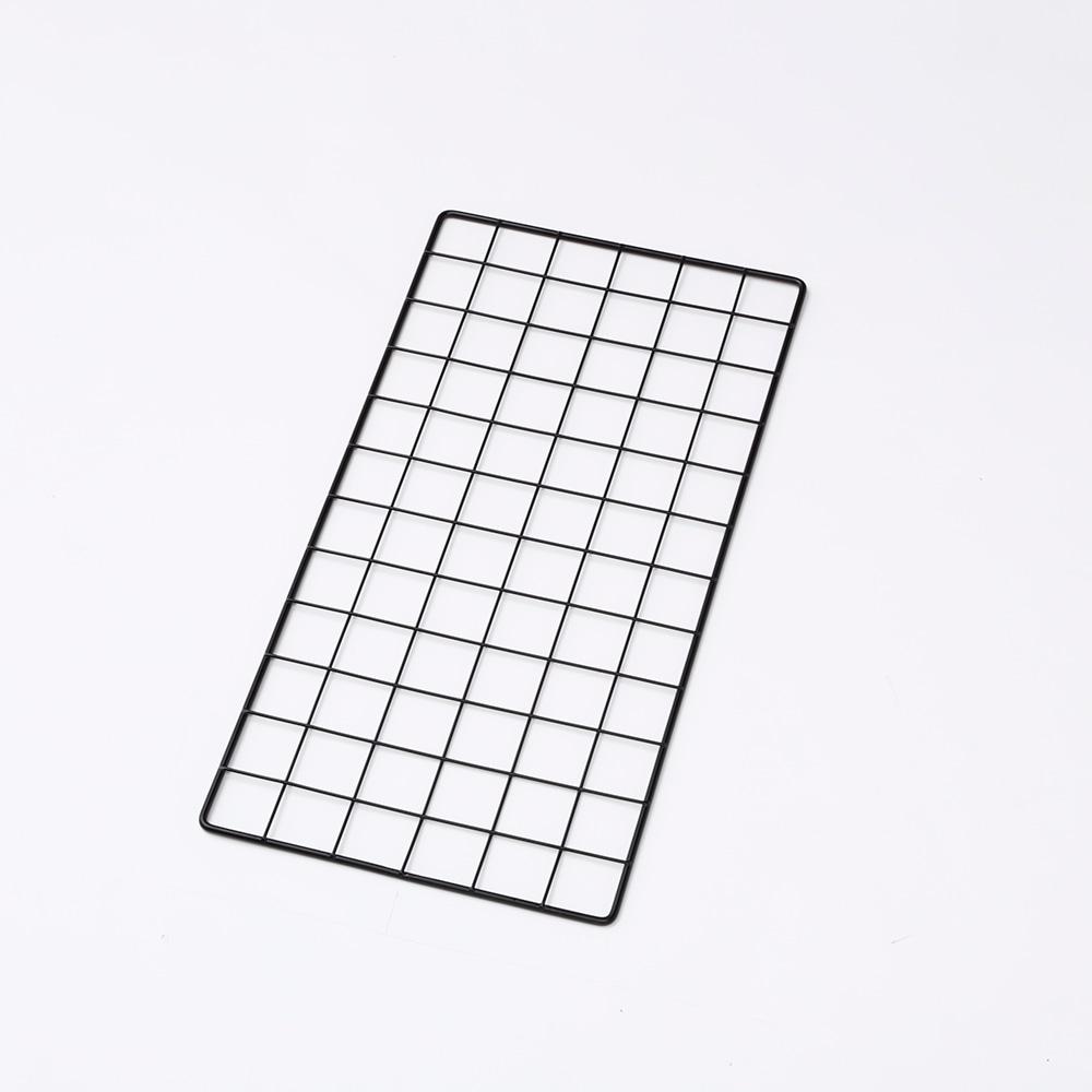 <ワイヤーネット> メッシュパネル 30×60 ブラック T3060B
