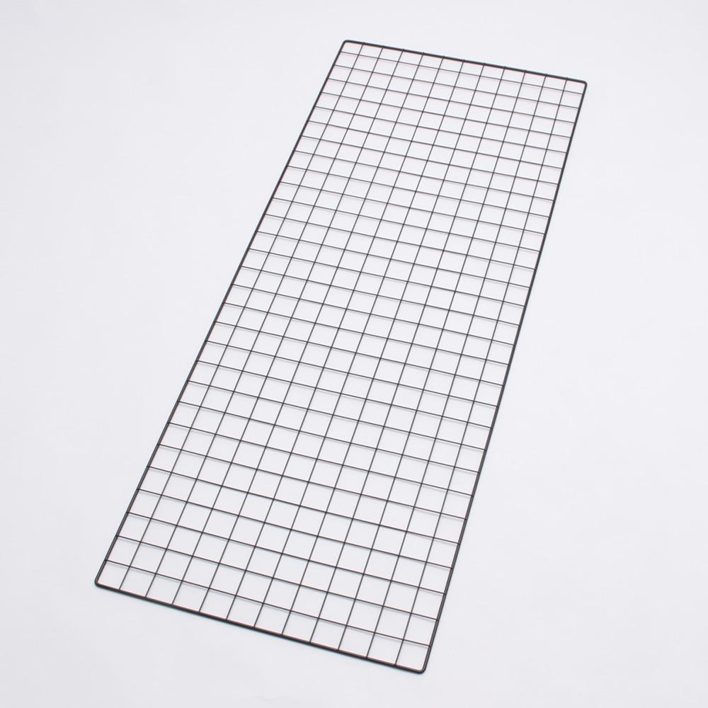 <ワイヤーネット> メッシュパネル 60×150 ブラック T60150B