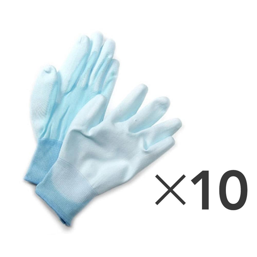 フィット背抜き手袋 10双組 M