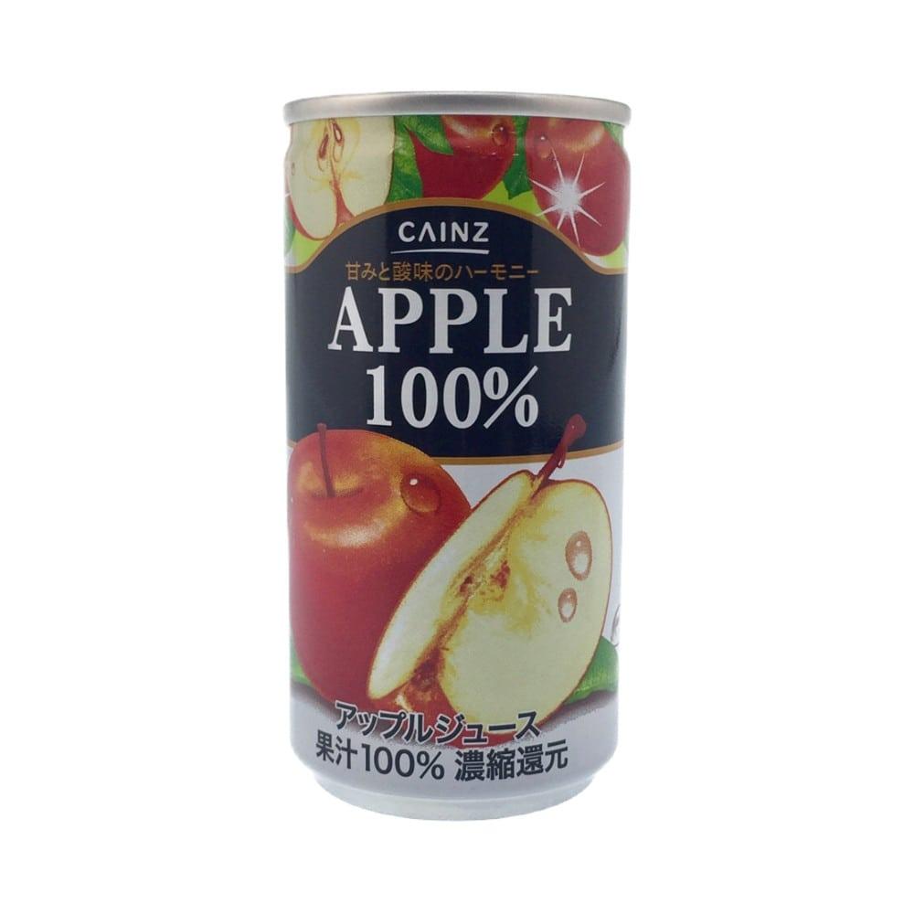 【ケース販売】アップル100% 190g×30缶(1缶あたり35円)