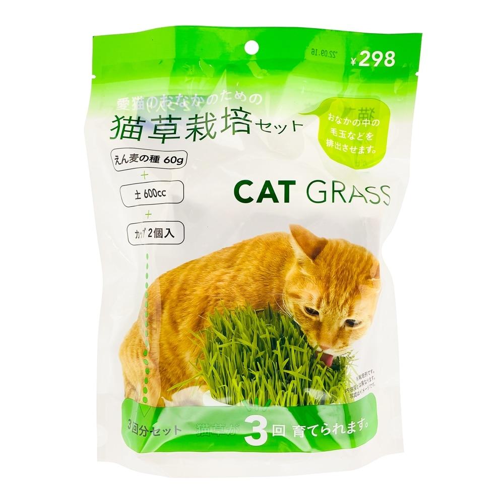 Pet'sOne猫草栽培セット  3回分