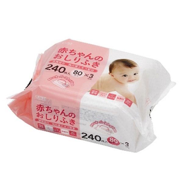 カインズ 赤ちゃんのおしりふき 80枚×3個パック