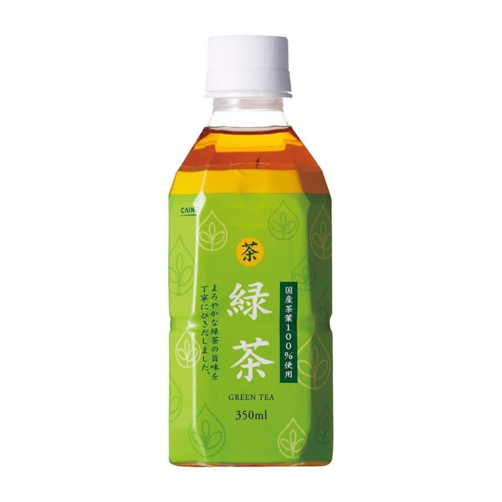 【ケース販売】緑茶 国産茶葉100% 350ml×24本
