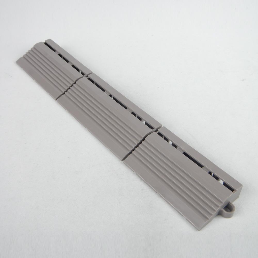 ジョイント人工芝用 フチO型(オス) ウォームグレイ