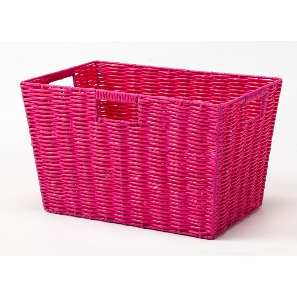 キッズバスケット ピンク