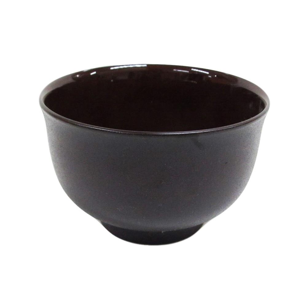 割れにくい軽量椀 200ml 茶