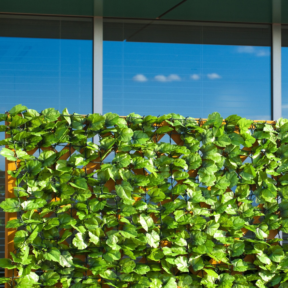 目隠しグリーンフェンス 1×2m ライトグリーン