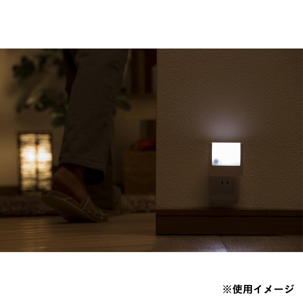 LED明暗人感センサーライト CZ-006