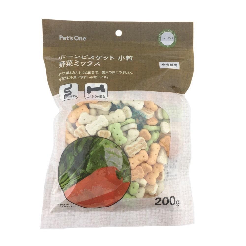 Pet'sOneボーンビスケット小粒野菜ミックス 200g