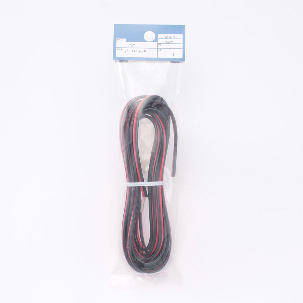 VFF 1.25 5M (赤/黒)