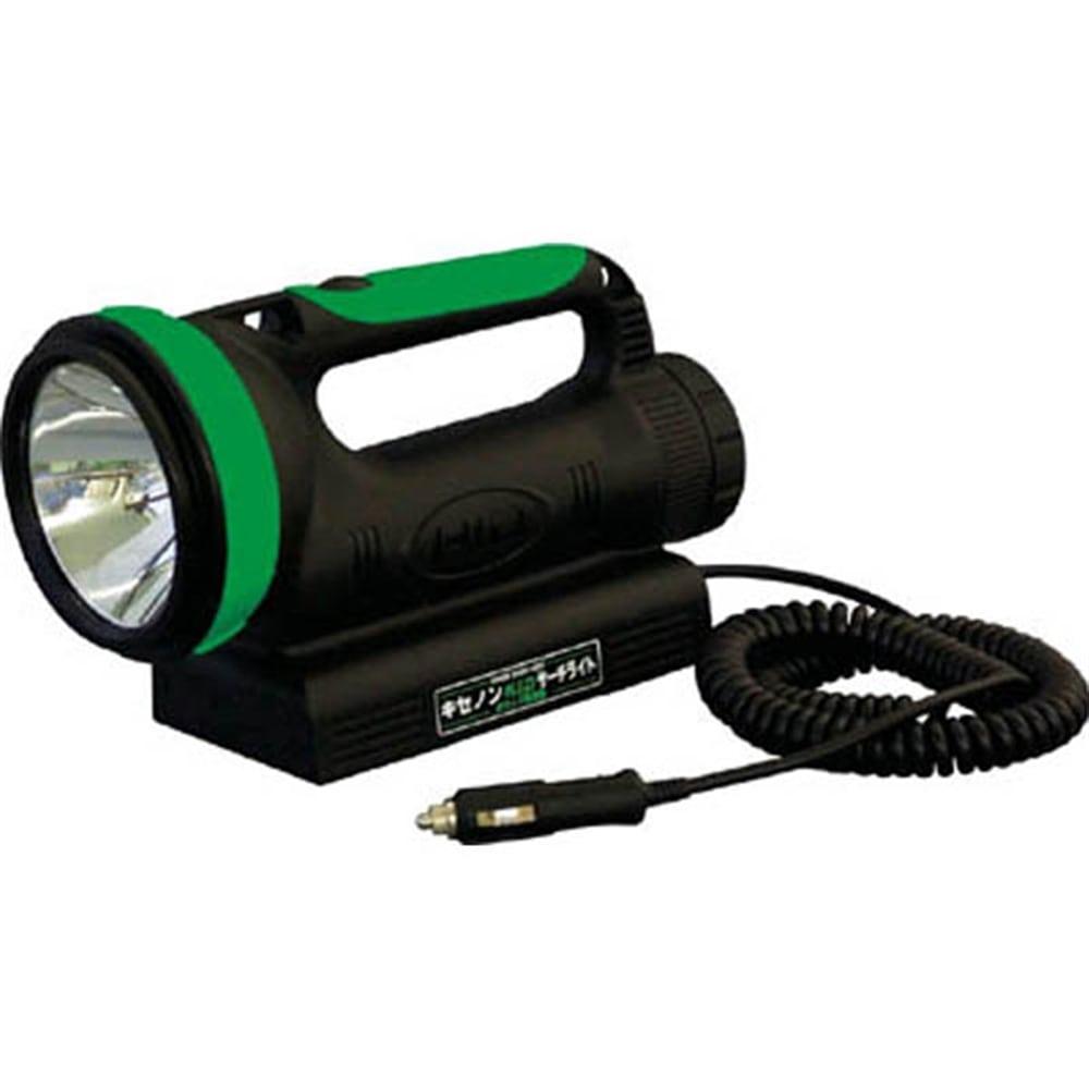 【CAINZ DASH】日動 懐中電灯 スーパーサーチライト(HID) 充電式35Wキセノン球