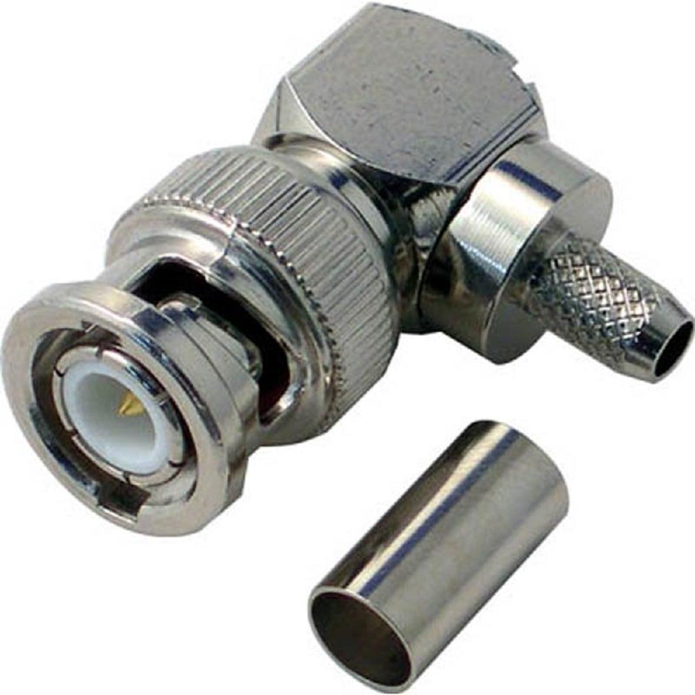 デンサン BNC型L形プラグ LBNCL3C