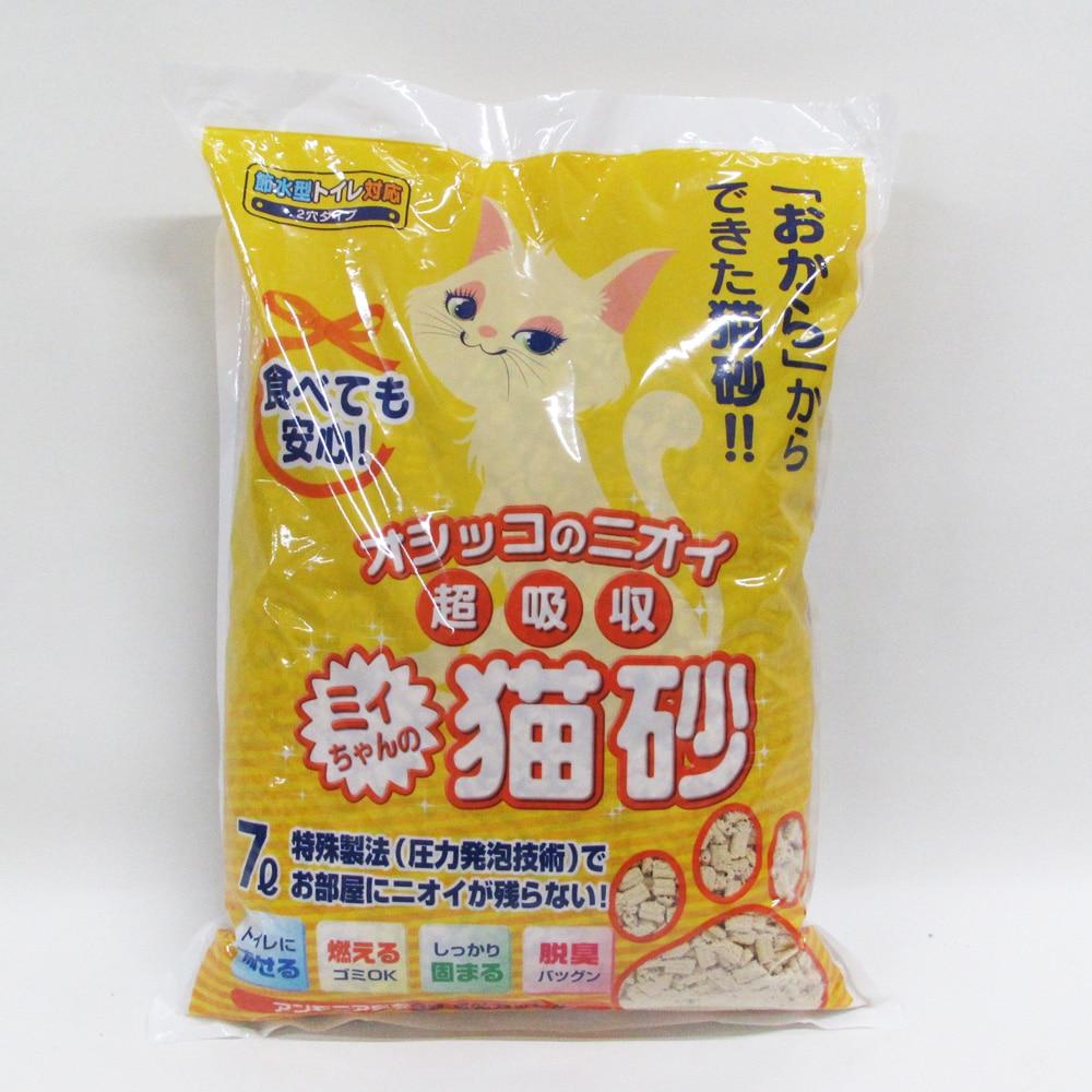 ミィちゃんの猫砂 2穴タイプ 7L(1Lあたり 約71.2円)