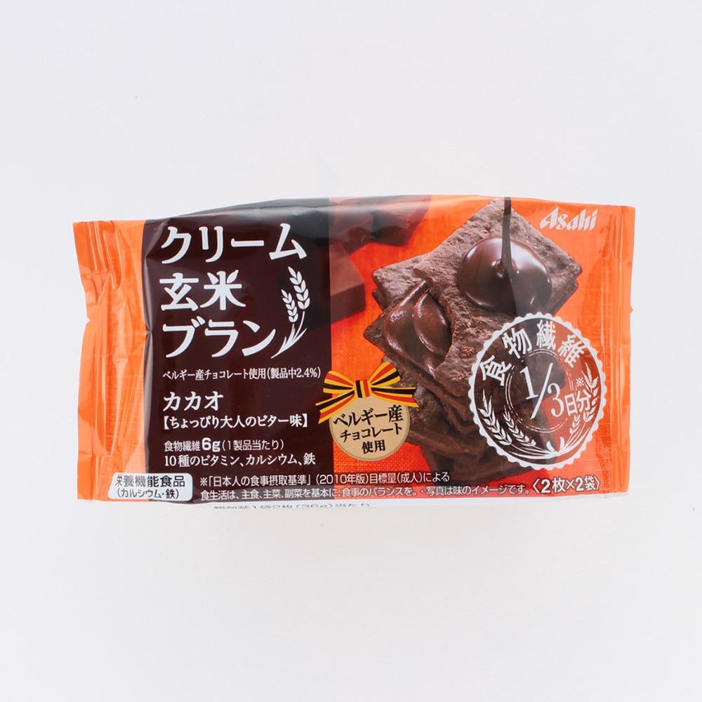 バランスアップ クリーム玄米ブラン カカオ 2枚x2袋 72g
