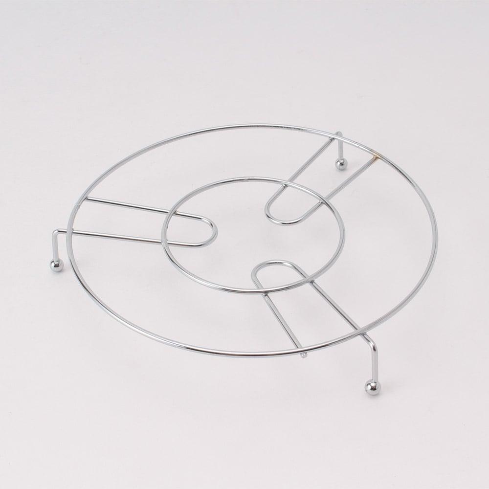 スチールワイヤー鍋敷き 20cm