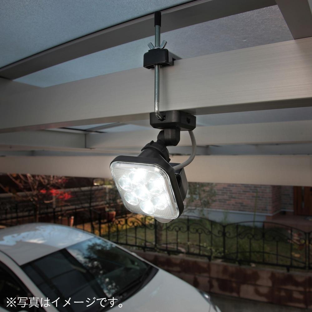 8W×1灯フリーアーム式LEDセンサーライト