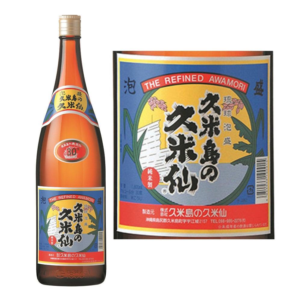久米島の久米仙 泡盛 瓶 30度 1800ml