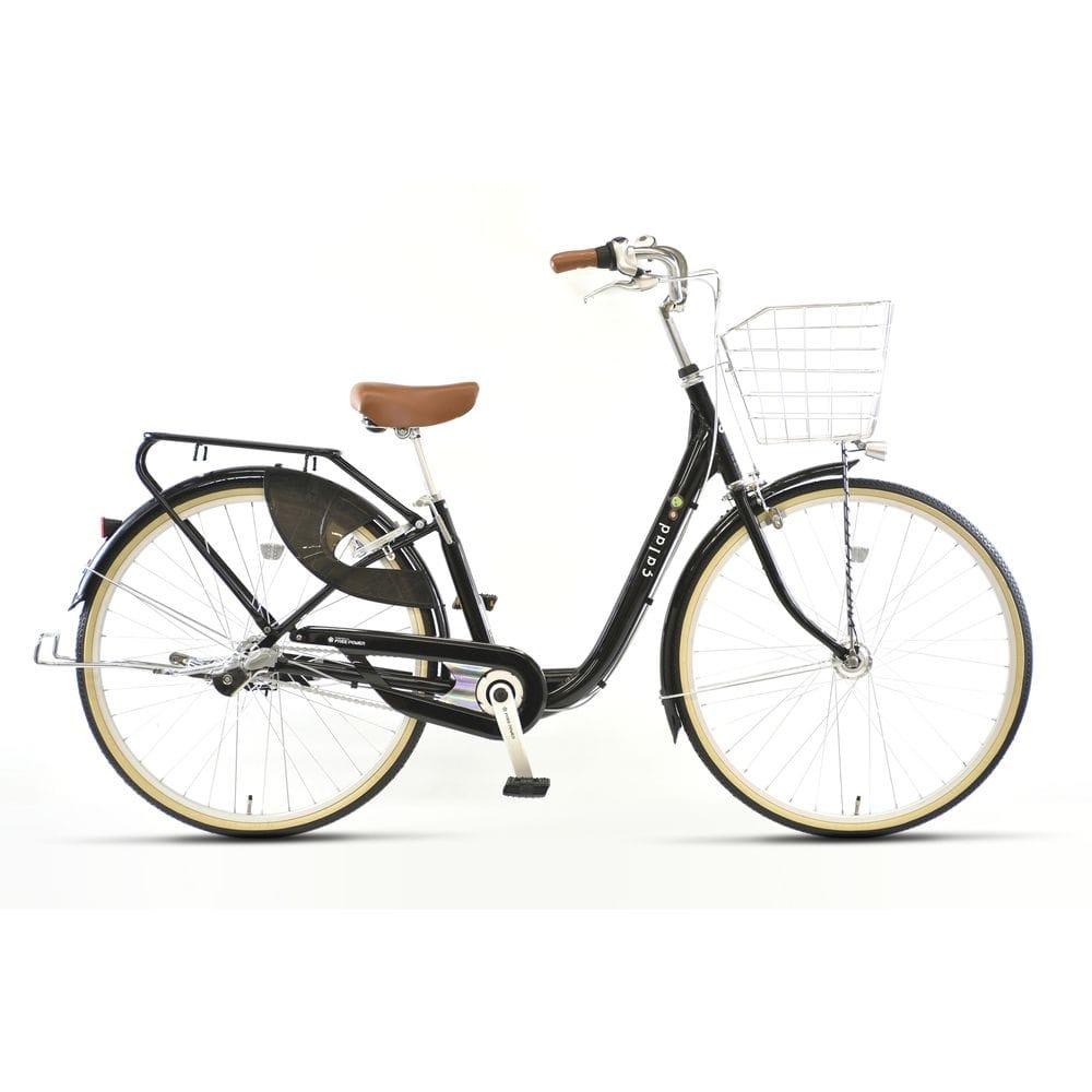 【自転車】《丸石サイクル》フリーパワーサラダS 26型 内装3段 S493 オリーブ