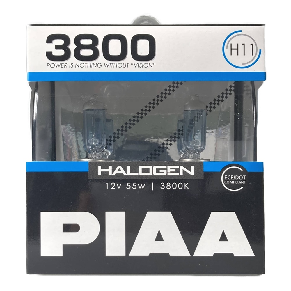 PIAA ハロゲンバルブ3800K H11 HS7011