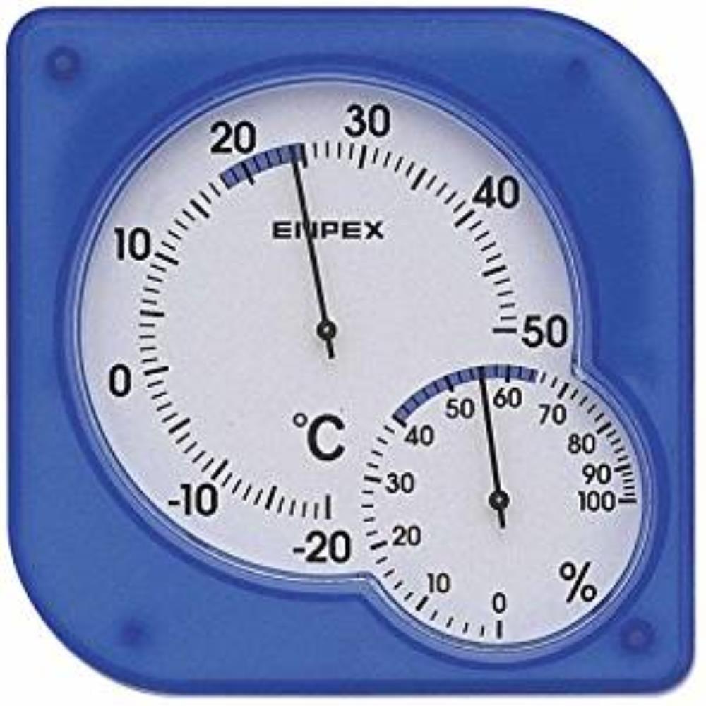 EP 温湿度計 シュクレミディブルーTM-5606