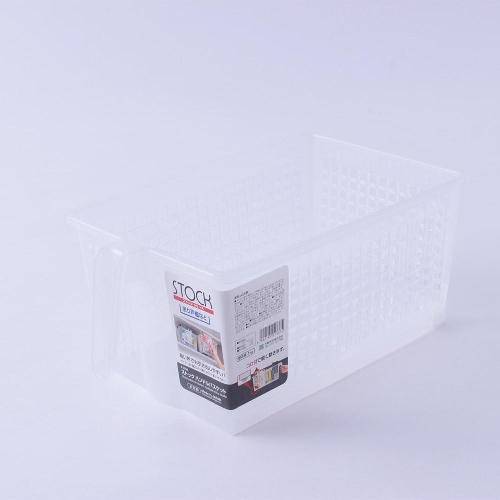 不動技研 キッチン収納ケース ストックハンドルバスケット キャスター付き F-2554