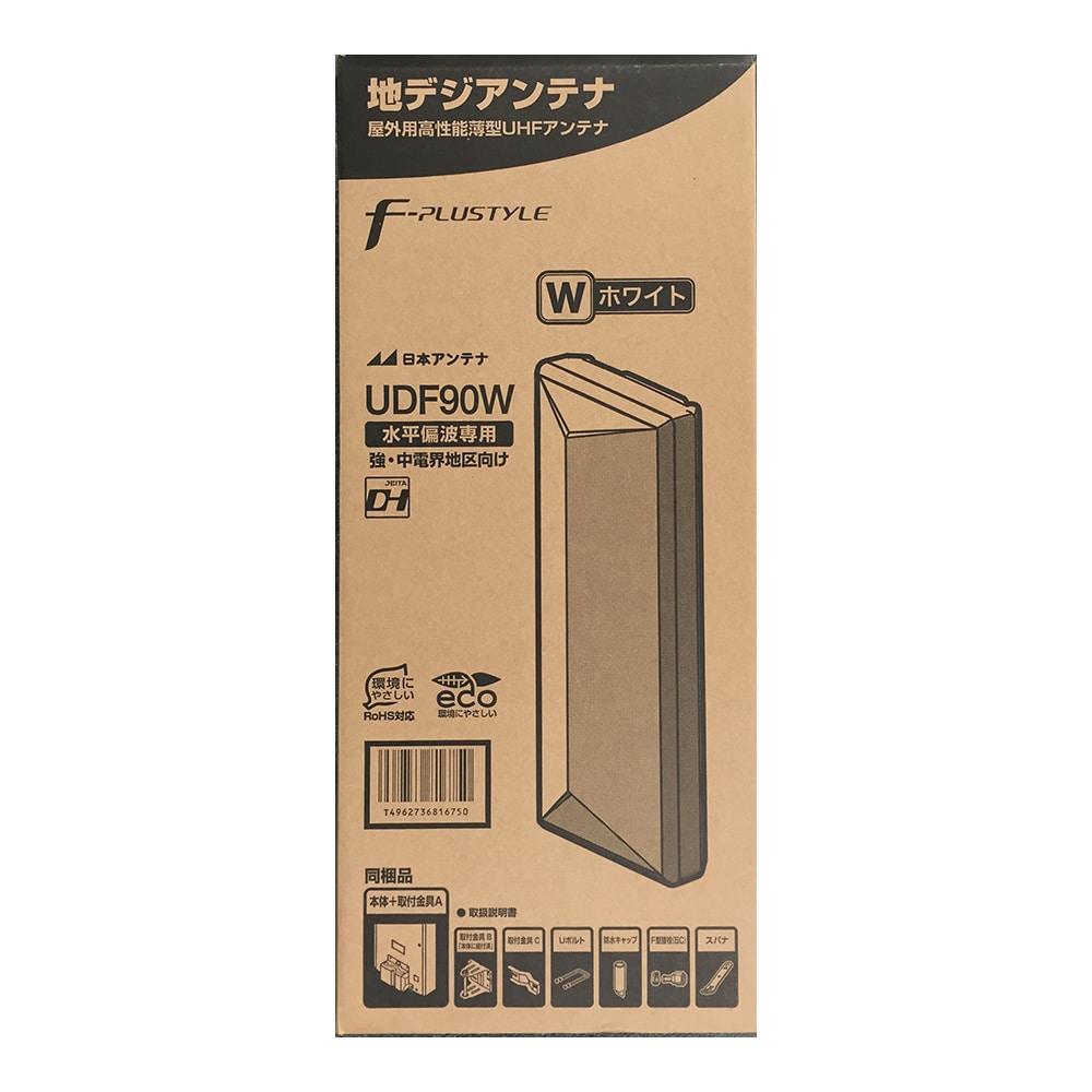 日本アンテナ 地デジ平面アンテナ UDF90W【別送品】