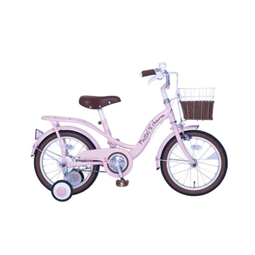 【自転車】【全国配送】パステルチャーム 18インチ ピンク【別送品】