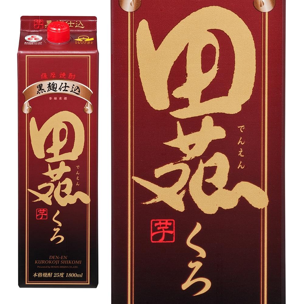 田苑 乙類25° 黒麹仕込み 芋 パック 1.8L