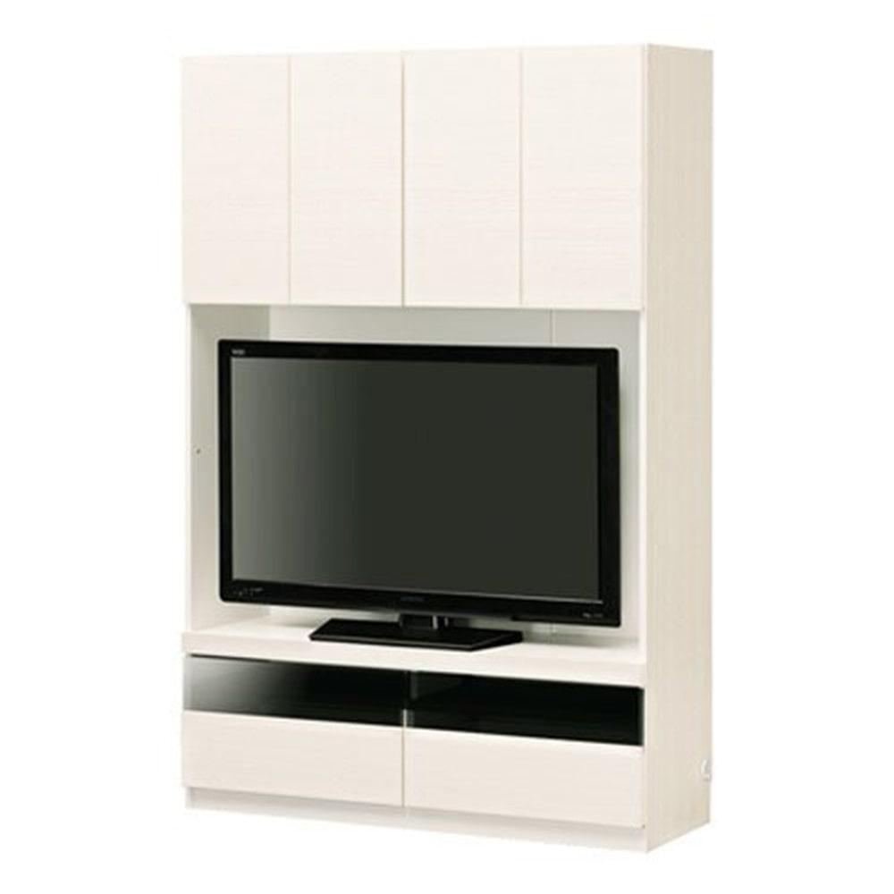 壁面テレビボード ポルターレ POR-1812TV ホワイト【別送品】