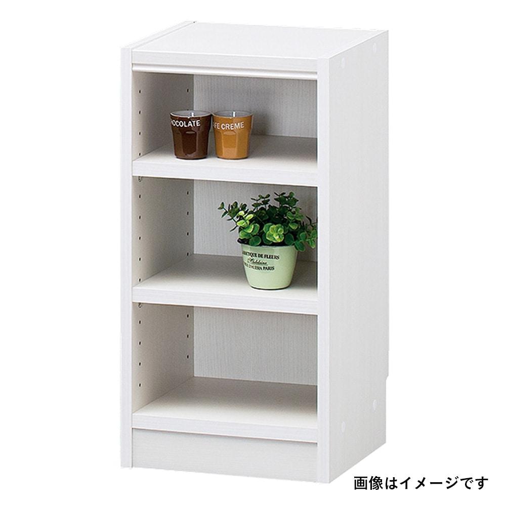 書棚 タナリオ TNL-6031 WH【別送品】