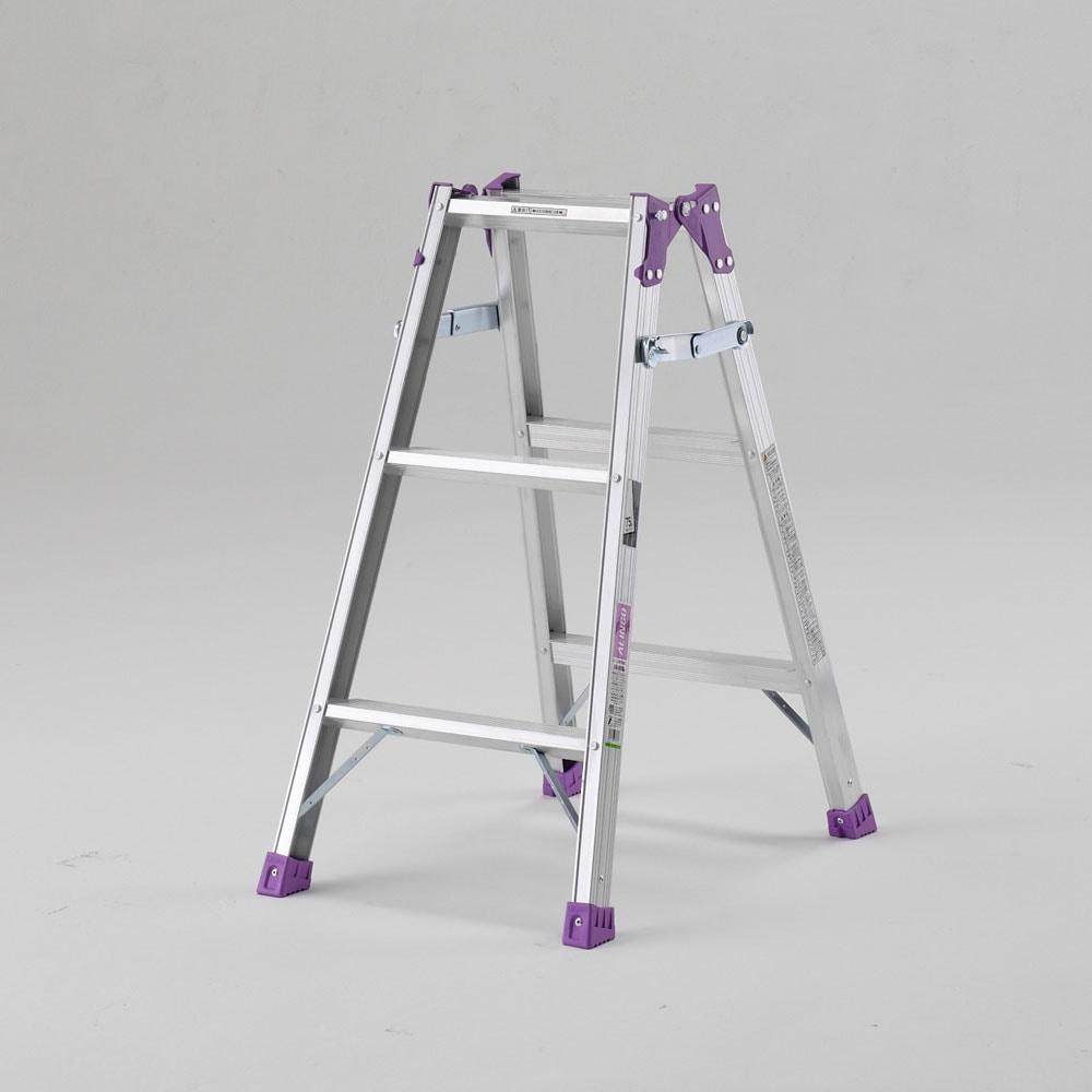 アルミ製梯子兼用幅広脚立MRシリーズ 各種