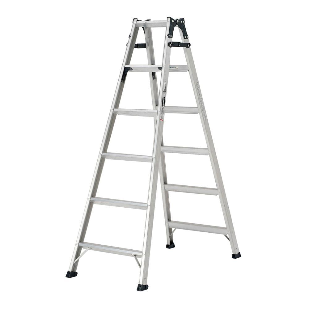 ステップ幅広はしご兼用脚立 6段 MXB180FX