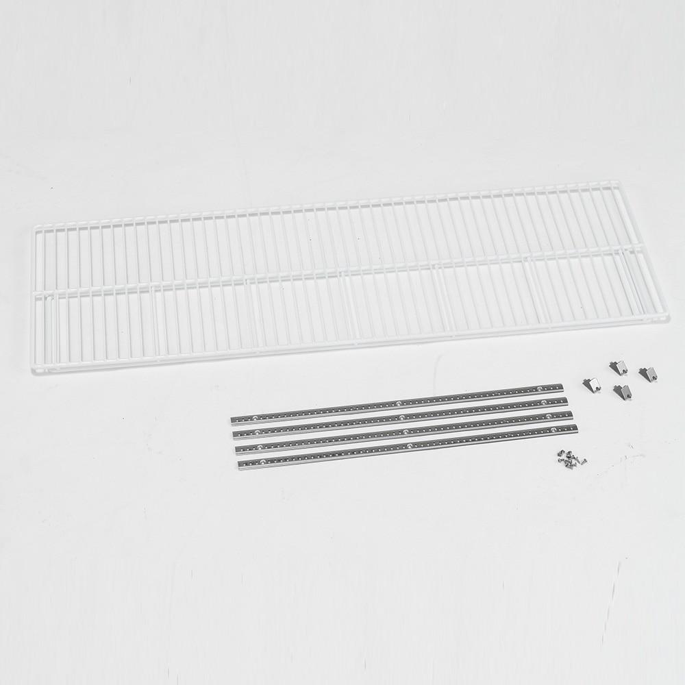 アルインコ 低温貯蔵庫用棚柱付き棚板セット 21袋・24袋用 MET1500T【別送品】