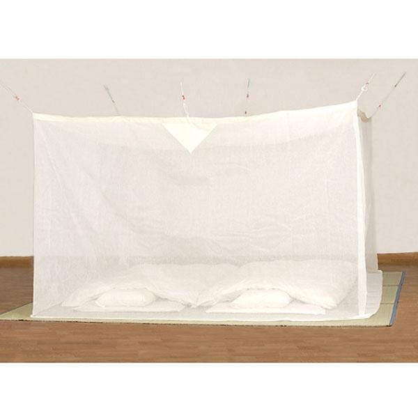 綿麻蚊帳 生成り 4.5畳用【別送品】