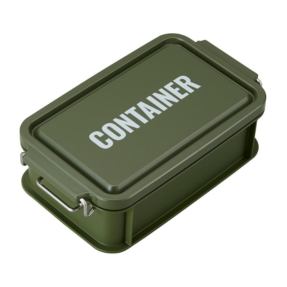 【trv】コンテナランチボックス600カーキ